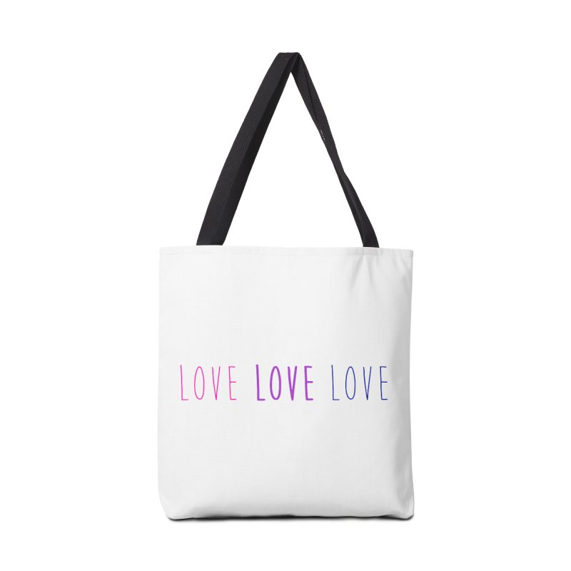 BI LOVE Accessories Bag by Prismheartstudio 's Artist Shop