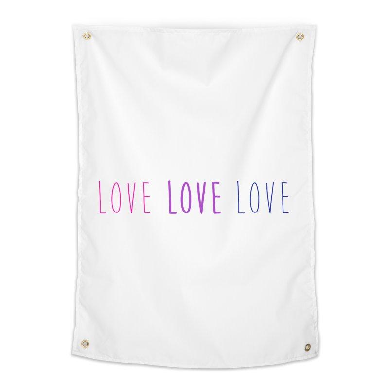 BI LOVE Home Tapestry by Prismheartstudio 's Artist Shop