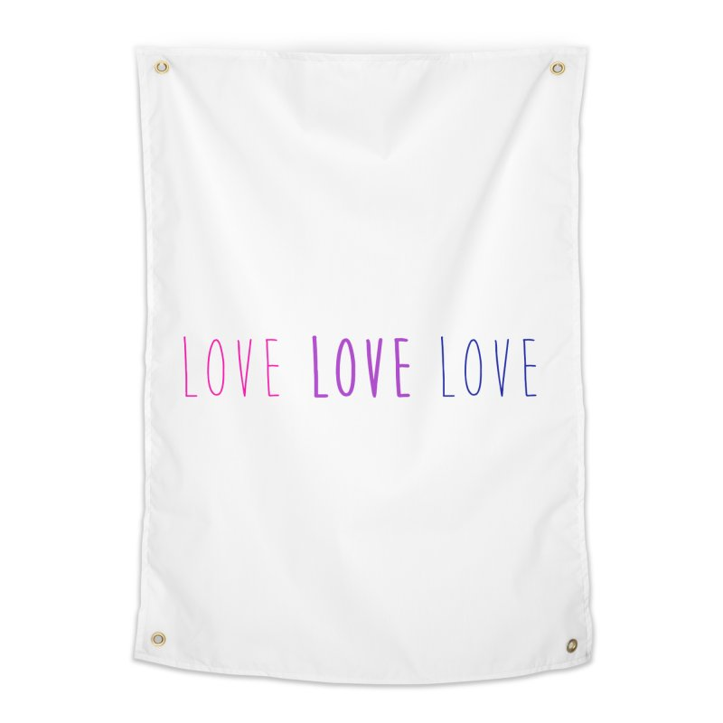 BI LOVE Home Tapestry by Prismheartstudio 's Artist Shop