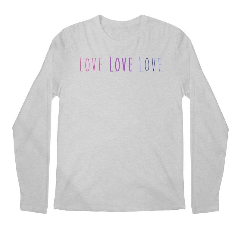 BI LOVE Men's Regular Longsleeve T-Shirt by Prismheartstudio 's Artist Shop