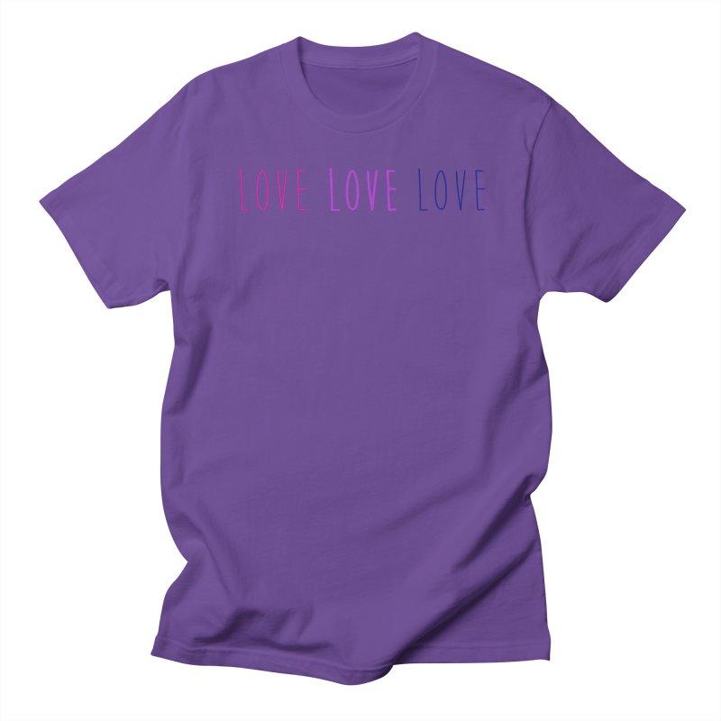 BI LOVE Men's Regular T-Shirt by Prismheartstudio 's Artist Shop
