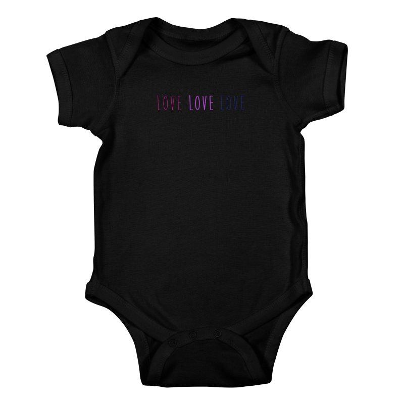 BI LOVE Kids Baby Bodysuit by Prismheartstudio 's Artist Shop