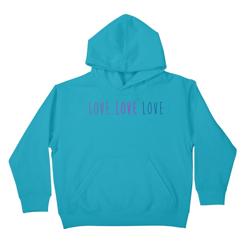 BI LOVE Kids Pullover Hoody by Prismheartstudio 's Artist Shop