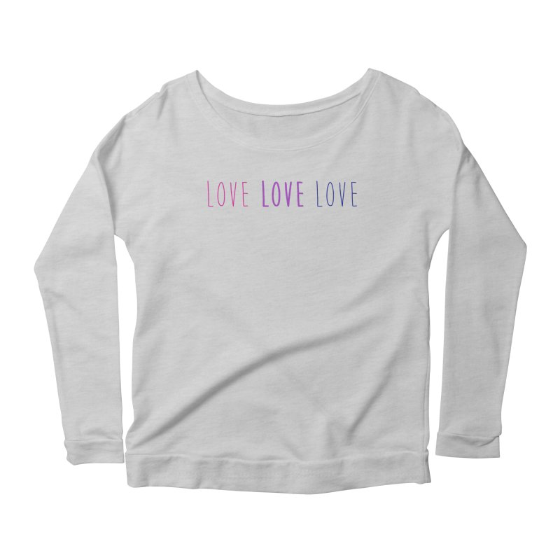 BI LOVE Women's Longsleeve T-Shirt by Prismheartstudio 's Artist Shop