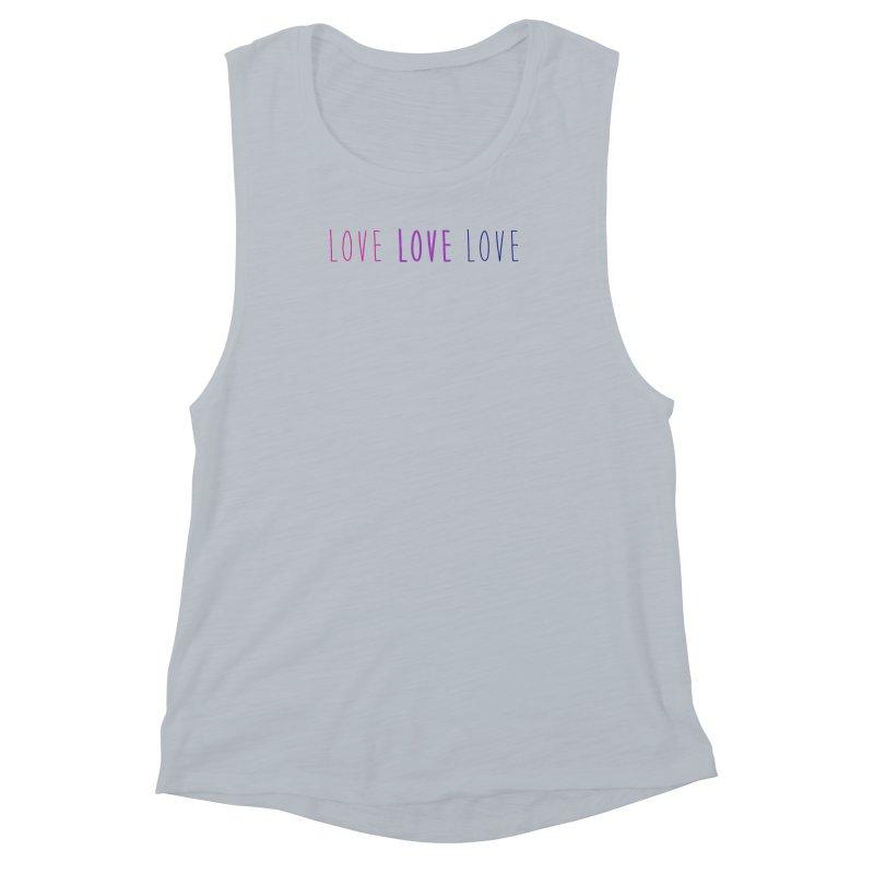 BI LOVE Women's Muscle Tank by Prismheartstudio 's Artist Shop