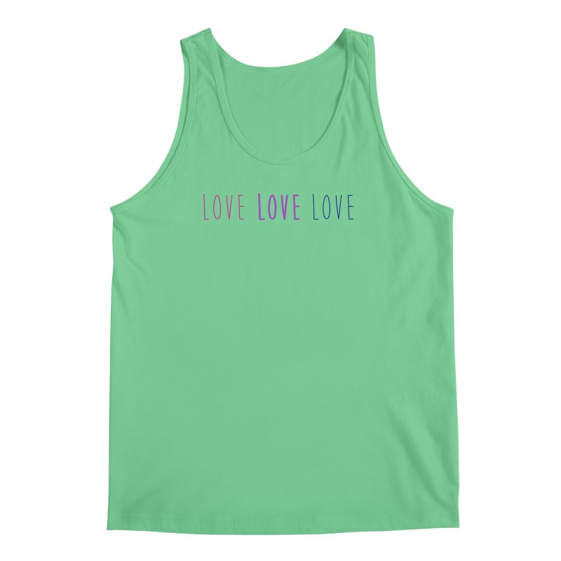 BI LOVE Men's Regular Tank by Prismheartstudio 's Artist Shop