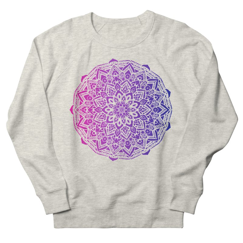 Bi Mandala Women's French Terry Sweatshirt by Prismheartstudio 's Artist Shop
