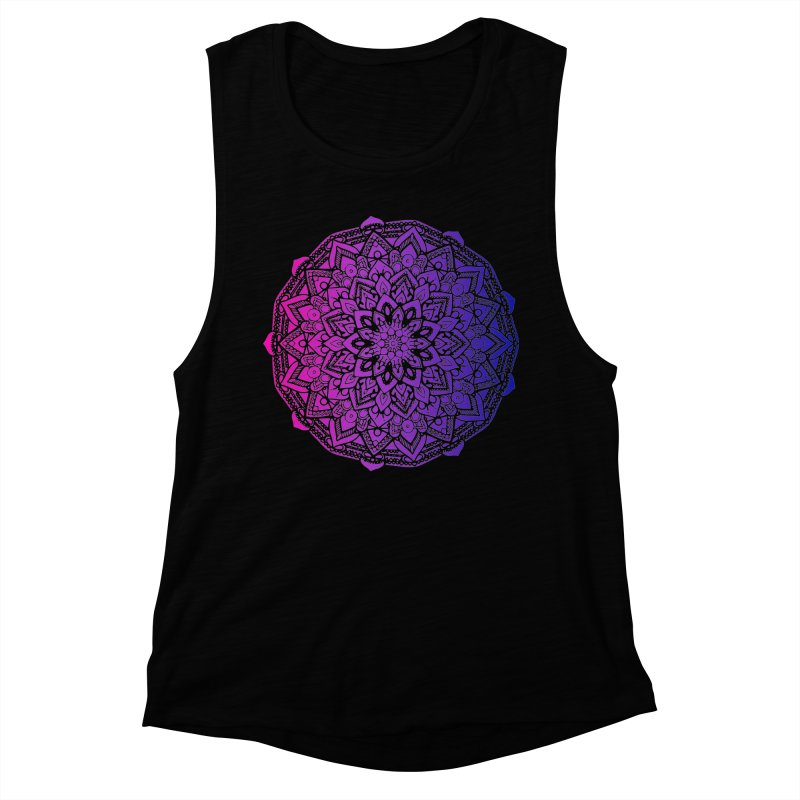 Bi Mandala Women's Muscle Tank by Prismheartstudio 's Artist Shop