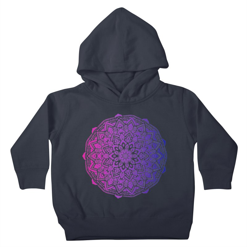 Bi Mandala Kids Toddler Pullover Hoody by Prismheartstudio 's Artist Shop