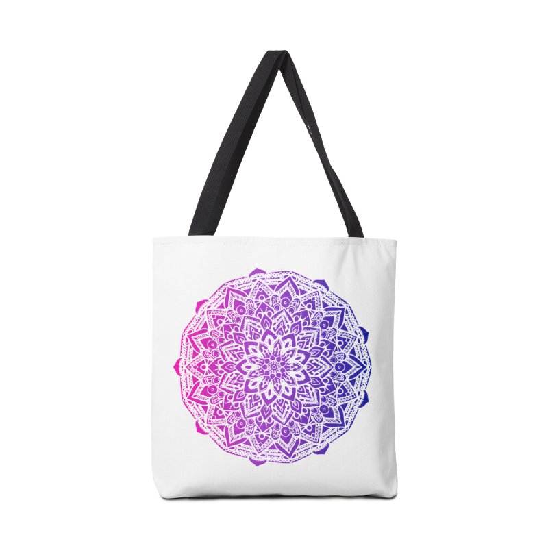 Bi Mandala Accessories Bag by Prismheartstudio 's Artist Shop