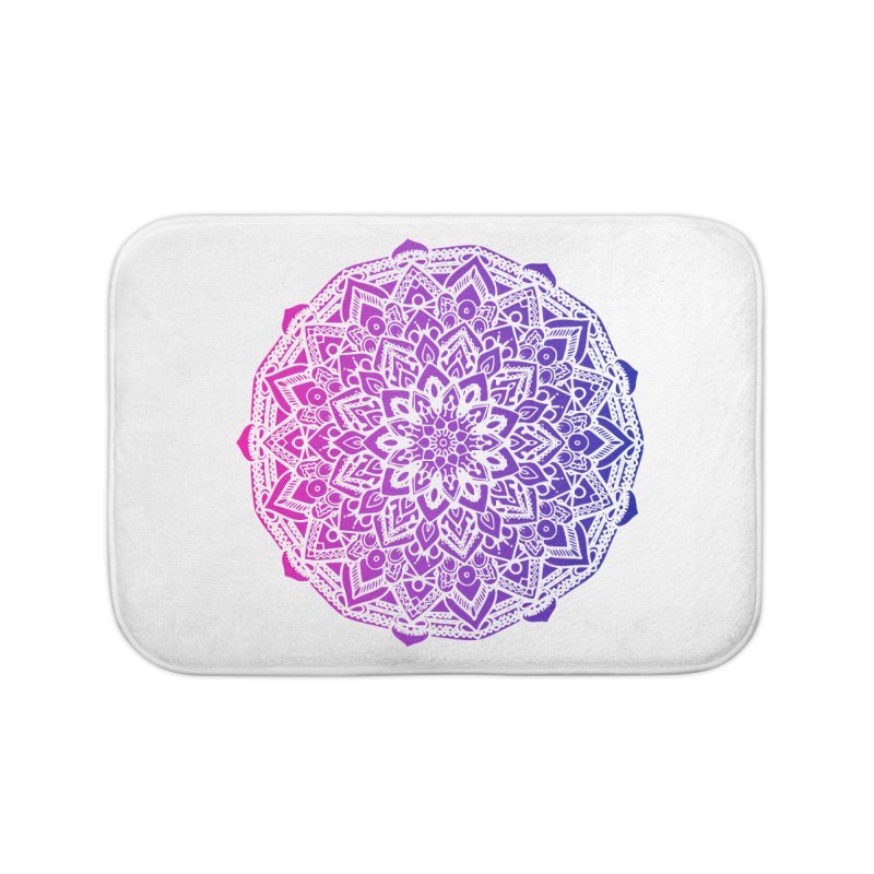 Bi Mandala Home Bath Mat by Prismheartstudio 's Artist Shop