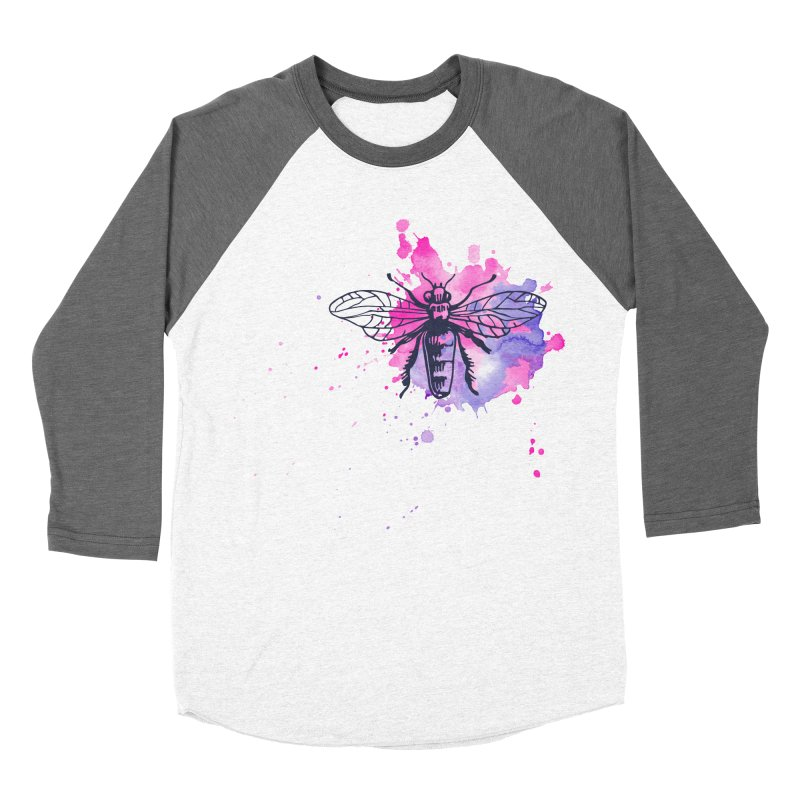 Bi Bi Bug Women's Baseball Triblend Longsleeve T-Shirt by Prismheartstudio 's Artist Shop