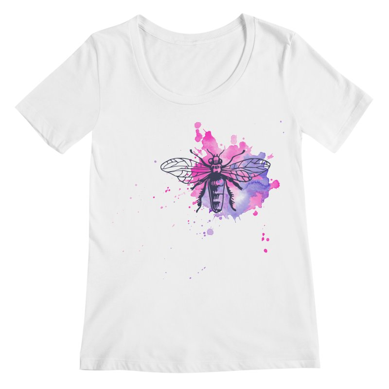 Bi Bi Bug Women's Regular Scoop Neck by Prismheartstudio 's Artist Shop