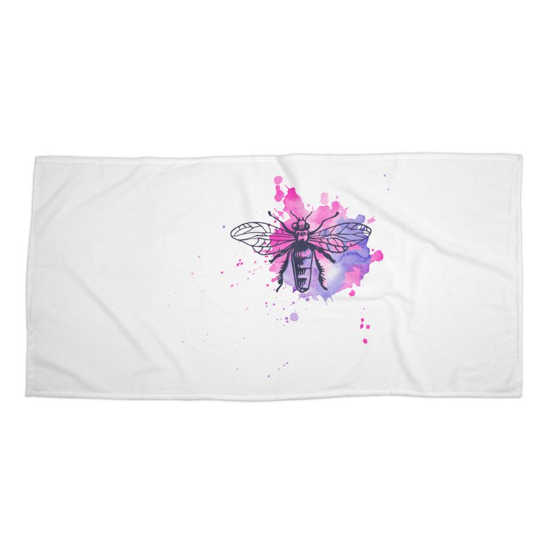 Bi Bi Bug Accessories Beach Towel by Prismheartstudio 's Artist Shop
