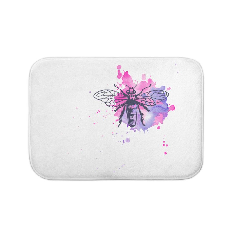 Bi Bi Bug Home Bath Mat by Prismheartstudio 's Artist Shop