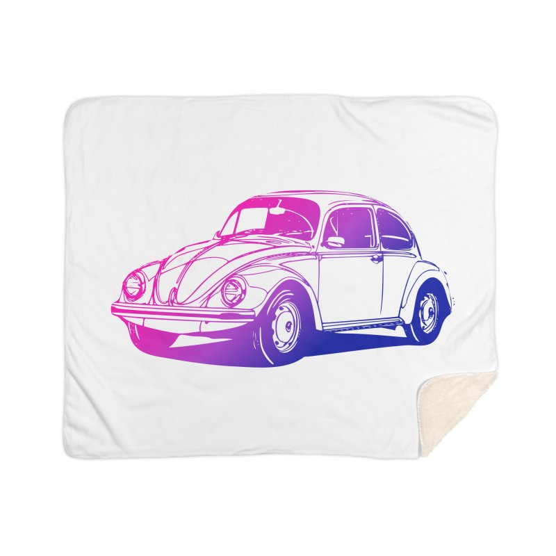 The LOVE Bug Home Sherpa Blanket Blanket by Prismheartstudio 's Artist Shop