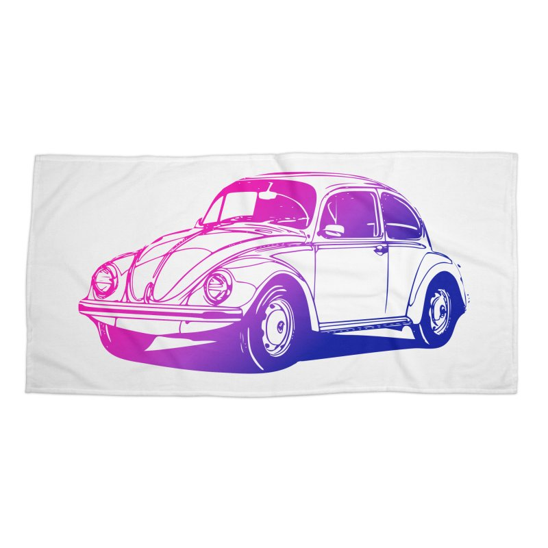 The LOVE Bug Accessories Beach Towel by Prismheartstudio 's Artist Shop