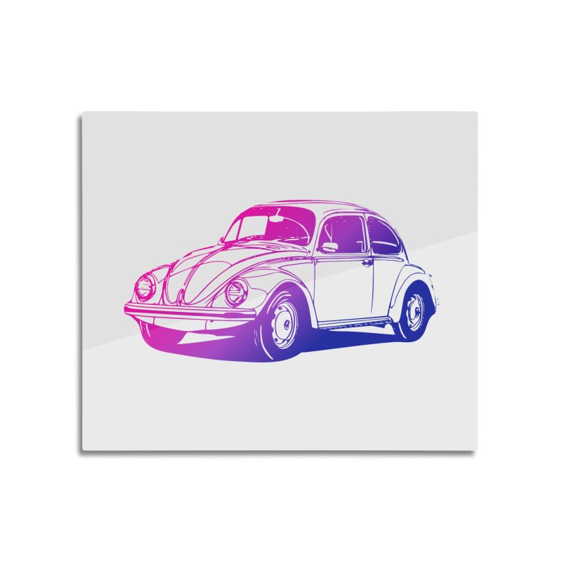 The LOVE Bug Home Mounted Acrylic Print by Prismheartstudio 's Artist Shop