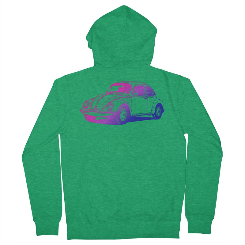 The LOVE Bug Women's French Terry Zip-Up Hoody by Prismheartstudio 's Artist Shop