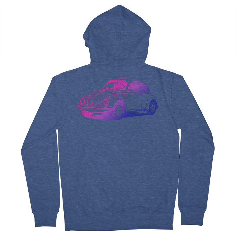 The LOVE Bug Men's French Terry Zip-Up Hoody by Prismheartstudio 's Artist Shop