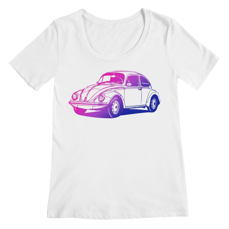 The LOVE Bug Women's Regular Scoop Neck by Prismheartstudio 's Artist Shop