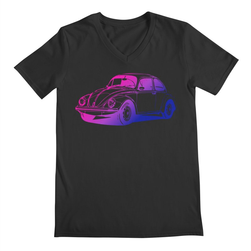 The LOVE Bug Men's Regular V-Neck by Prismheartstudio 's Artist Shop
