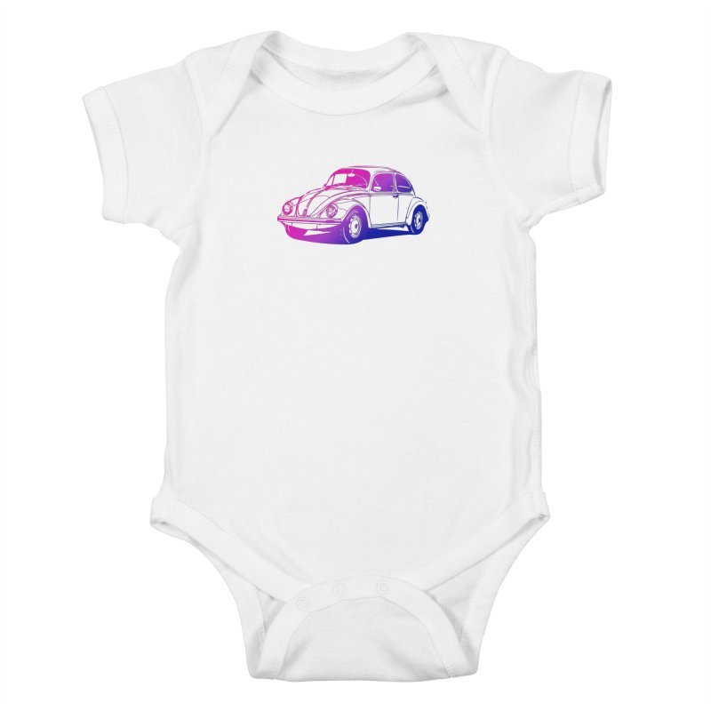 The LOVE Bug Kids Baby Bodysuit by Prismheartstudio 's Artist Shop