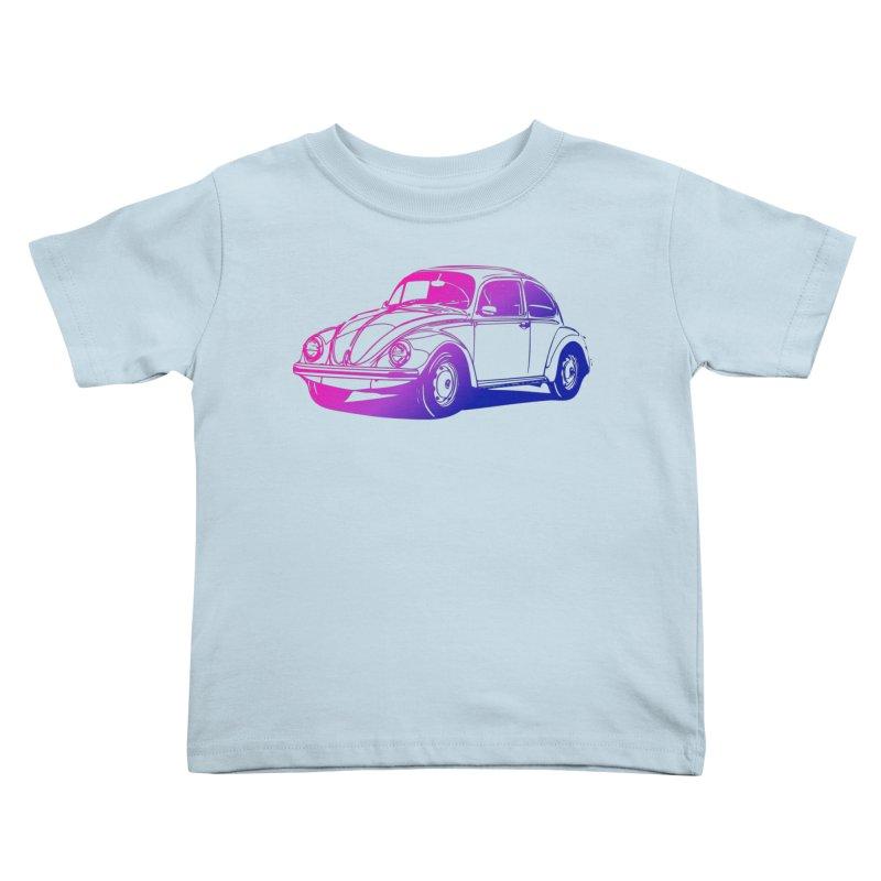 The LOVE Bug Kids Toddler T-Shirt by Prismheartstudio 's Artist Shop