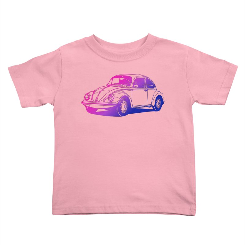 The LOVE Bug Kids Toddler T-Shirt by Prismheartstudio 's Artist Shop