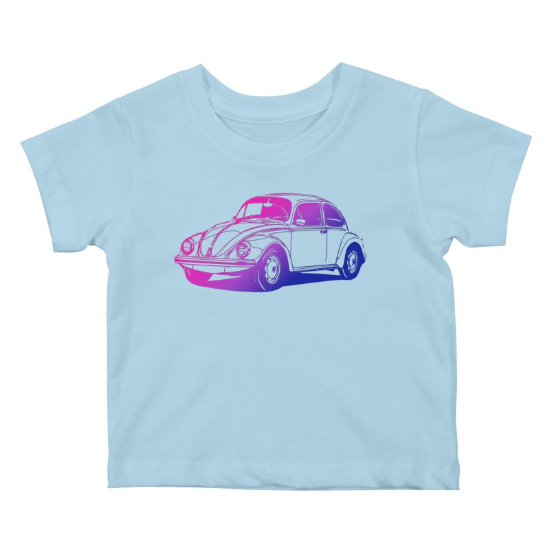 The LOVE Bug Kids Baby T-Shirt by Prismheartstudio 's Artist Shop