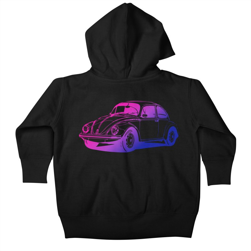 The LOVE Bug Kids Baby Zip-Up Hoody by Prismheartstudio 's Artist Shop