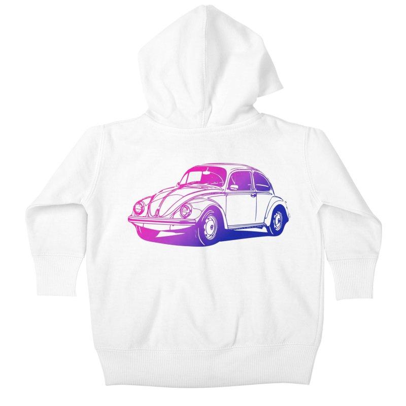 The LOVE Bug Kids Baby Zip-Up Hoody by Prismheartstudio 's Artist Shop