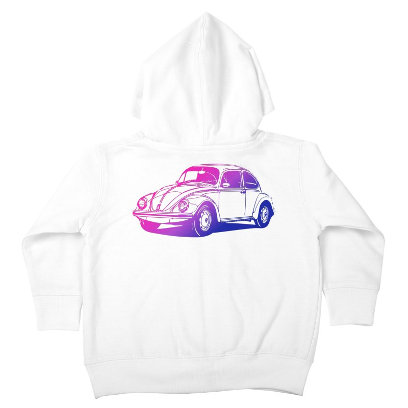 The LOVE Bug Kids Toddler Zip-Up Hoody by Prismheartstudio 's Artist Shop