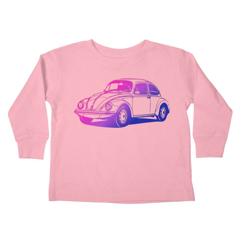 The LOVE Bug Kids Toddler Longsleeve T-Shirt by Prismheartstudio 's Artist Shop