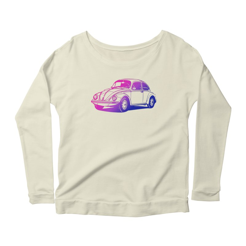 The LOVE Bug Women's Scoop Neck Longsleeve T-Shirt by Prismheartstudio 's Artist Shop