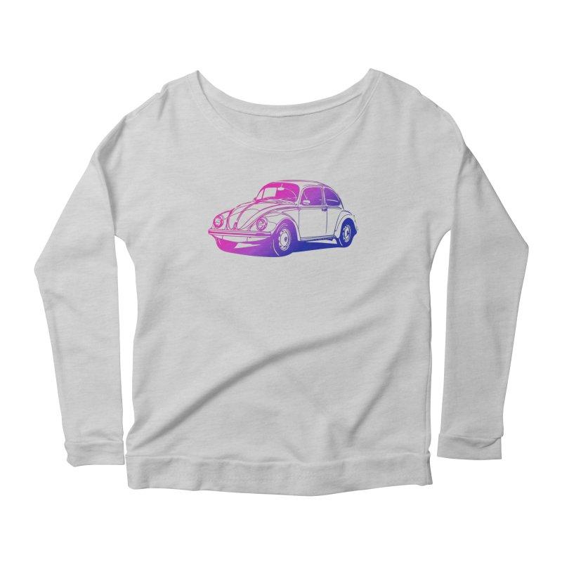 The LOVE Bug Women's Scoop Neck Longsleeve T-Shirt by Prismheartstudio 's Artist Shop
