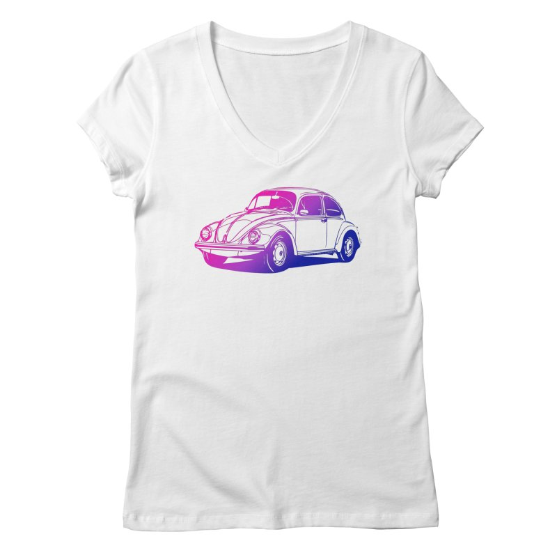 The LOVE Bug Women's V-Neck by Prismheartstudio 's Artist Shop