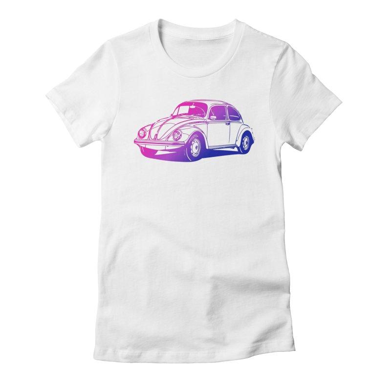 The LOVE Bug Women's Fitted T-Shirt by Prismheartstudio 's Artist Shop