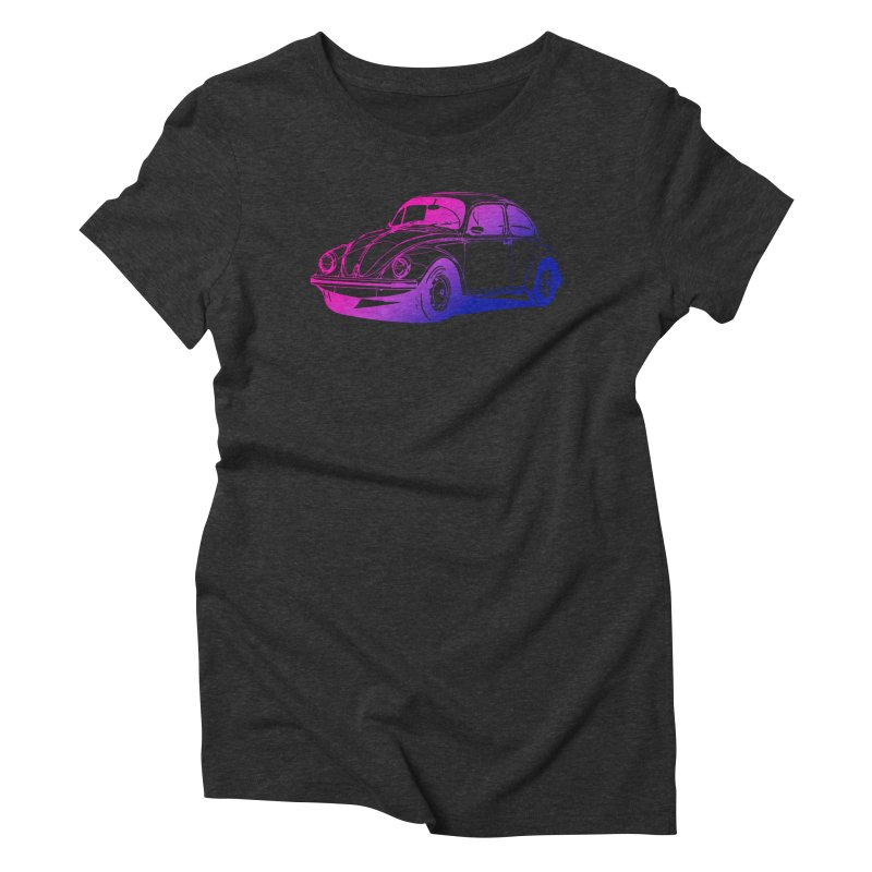 The LOVE Bug Women's Triblend T-Shirt by Prismheartstudio 's Artist Shop