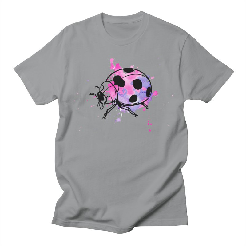 LadyBug Love Men's Regular T-Shirt by Prismheartstudio 's Artist Shop