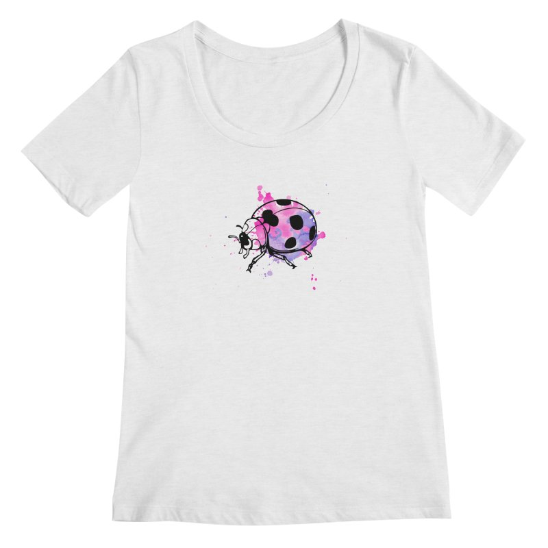 LadyBug Love Women's Regular Scoop Neck by Prismheartstudio 's Artist Shop