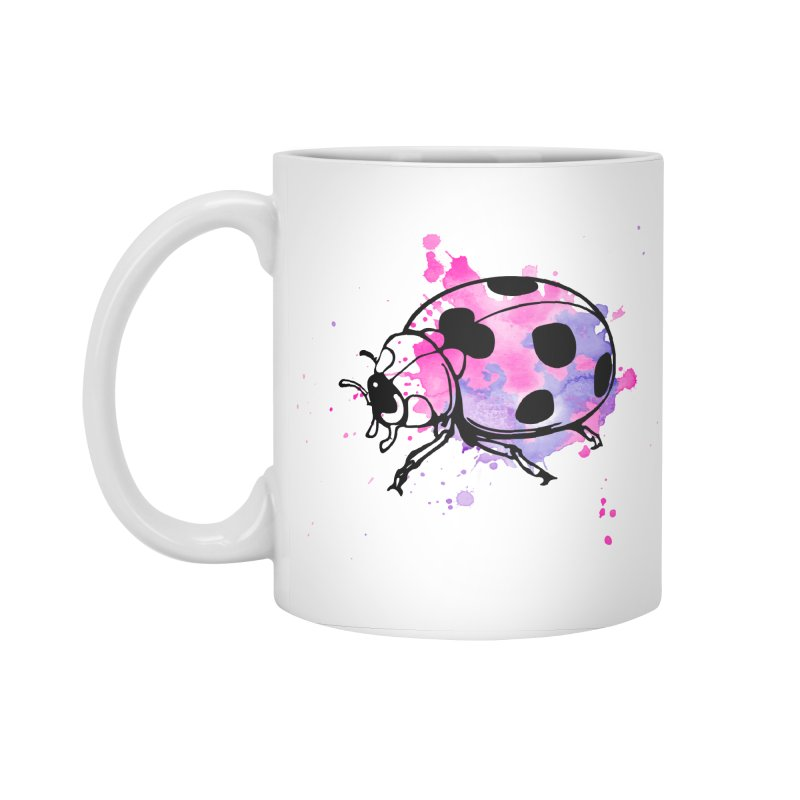 LadyBug Love Accessories Standard Mug by Prismheartstudio 's Artist Shop