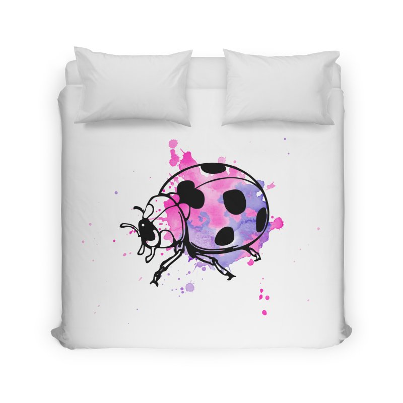 LadyBug Love Home Duvet by Prismheartstudio 's Artist Shop