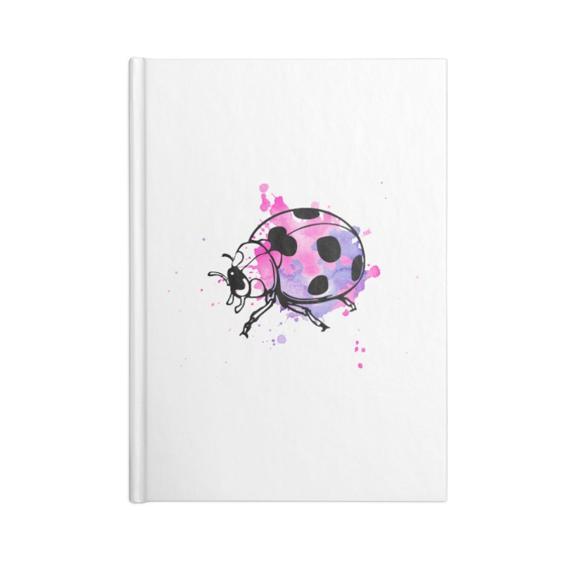 LadyBug Love Accessories Notebook by Prismheartstudio 's Artist Shop