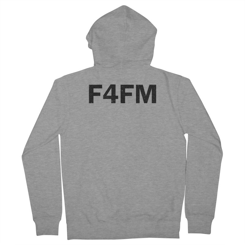 F4FM Women's French Terry Zip-Up Hoody by Prismheartstudio 's Artist Shop