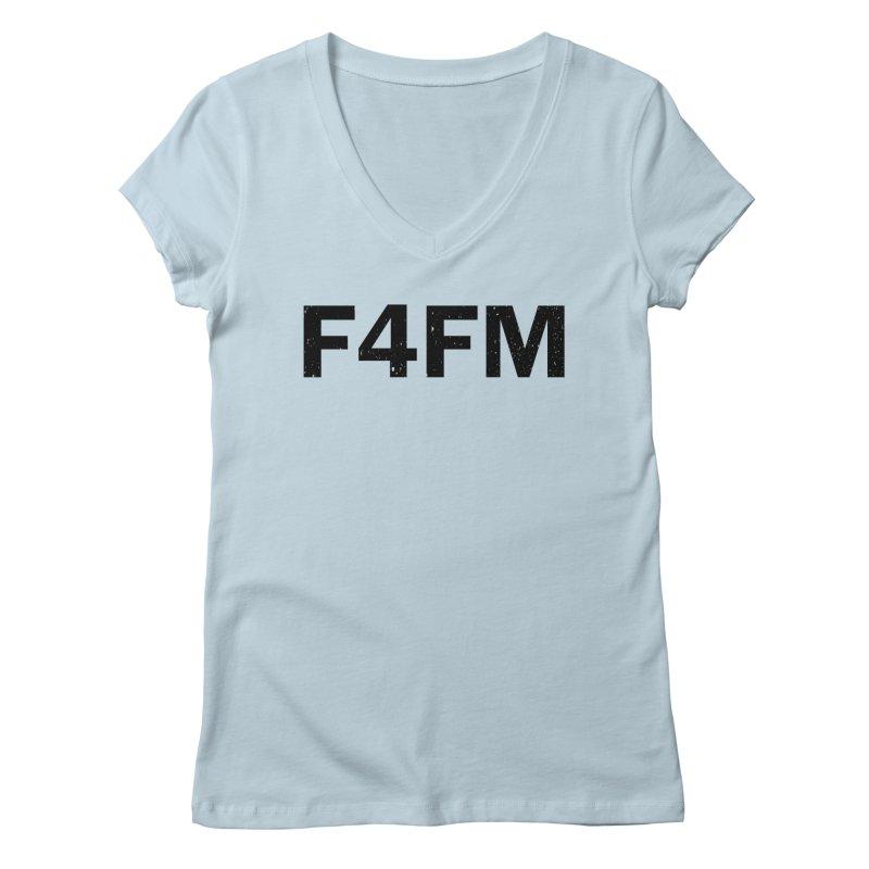 F4FM Women's Regular V-Neck by Prismheartstudio 's Artist Shop