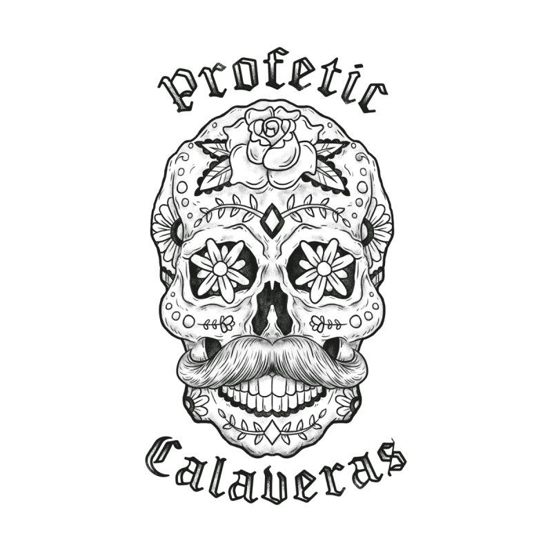Profetic Calaveras New Design-Black and White by Profcaband's Artist Shop