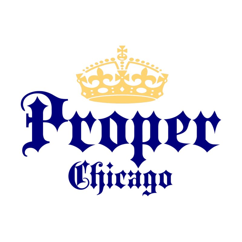 Proper Men's T-Shirt by Properchicago's Shop