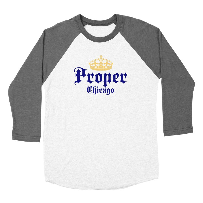 Proper Women's Longsleeve T-Shirt by Properchicago's Shop