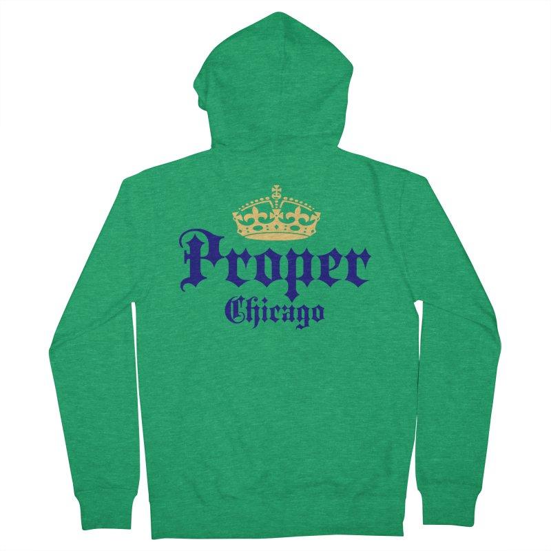 Proper Women's Zip-Up Hoody by Properchicago's Shop